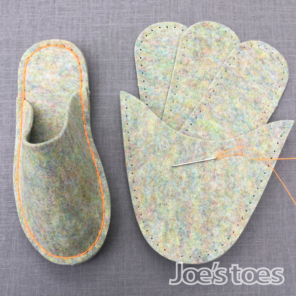 Joe's Toes Complete Felt Slipper Kit- Vegan edition!