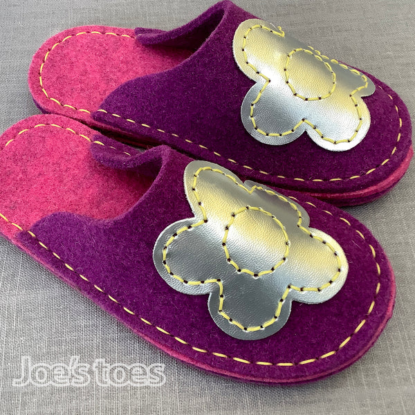 Joe's Toes Slipper BIG Flower Slipper Kit