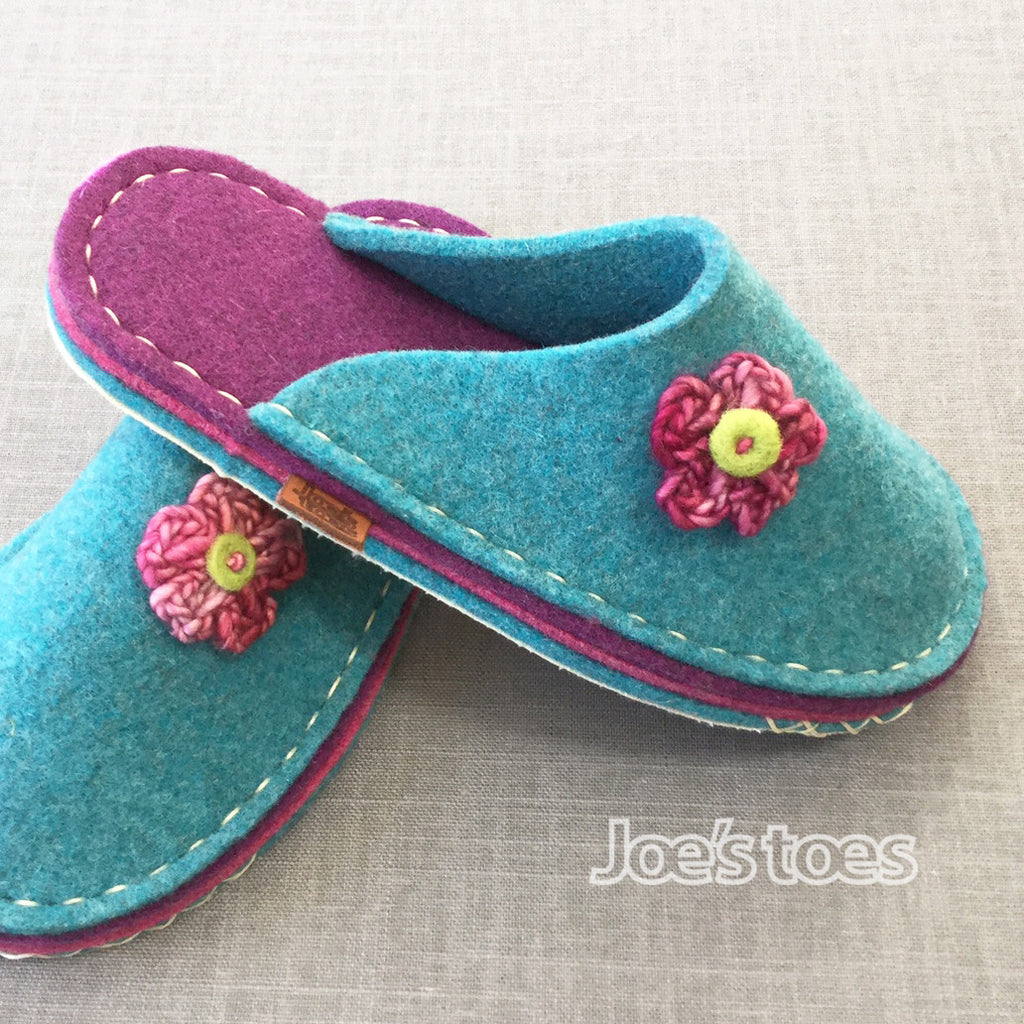 Spring Flower Slipper in UK sizes