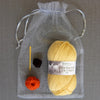 Baby Chick Knitting kit for crossover Slipper Kit in a bag