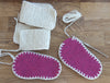 Baby Knitted Crossover Slipper Kit - Joe's Toes  - 8