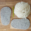 Baby Knitted Crossover Slipper Kit - Joe's Toes  - 3