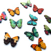 Butterfly Painted Wooden Buttons - Joe's Toes  - 4