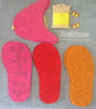 Complete Slipper Kit - Butterfly Button - in UK sizes - Joe's Toes  - 2