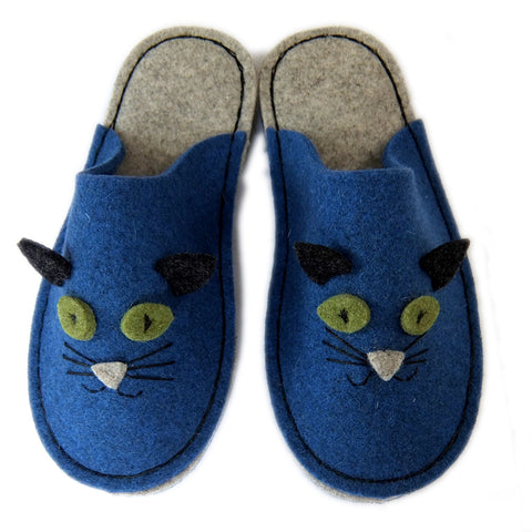 Felt Kitty Slipper