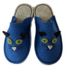 Complete Slipper Kit - Kitty in UK sizes - Joe's Toes 3-4 / Teal - 1