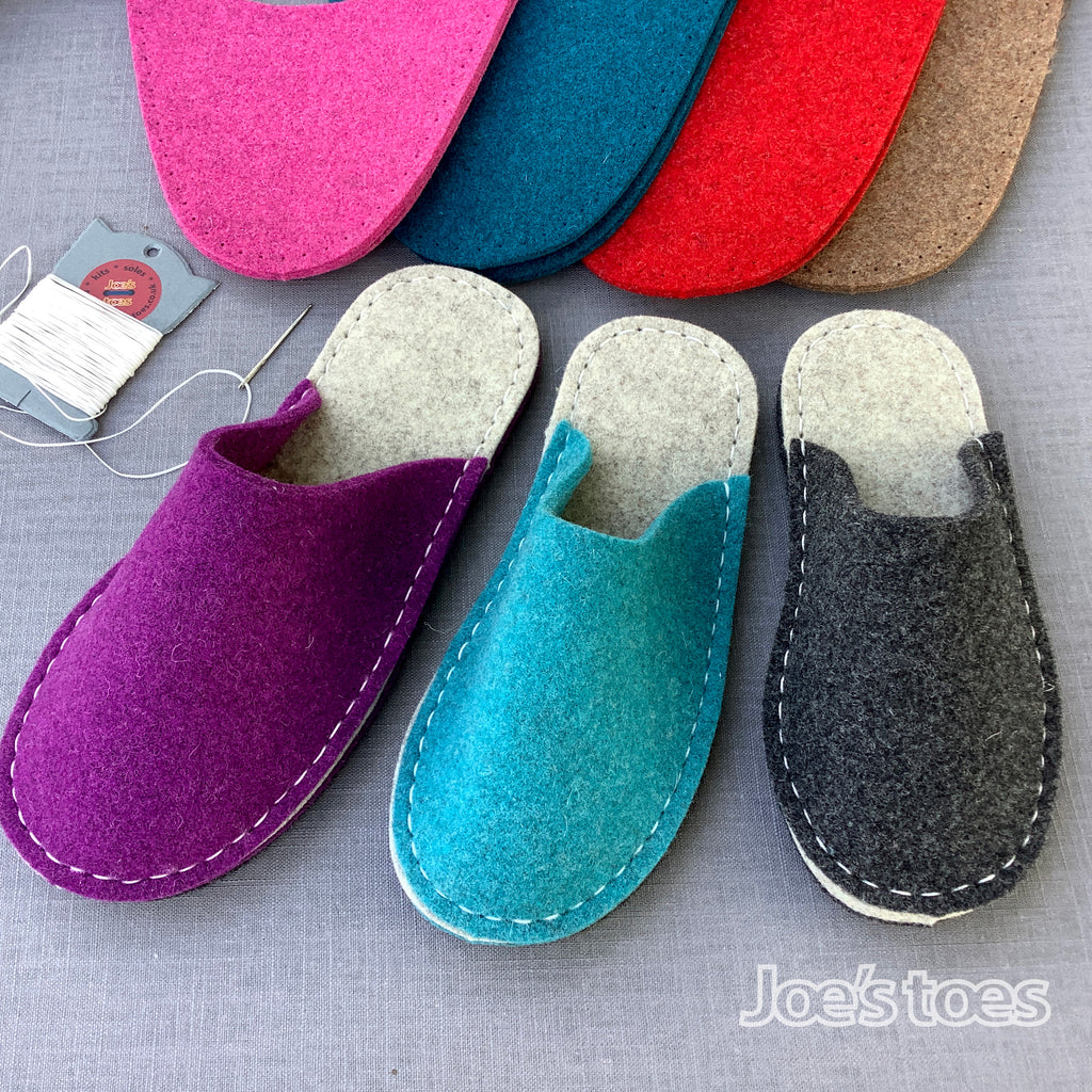 joe's toes make your own slippers kits