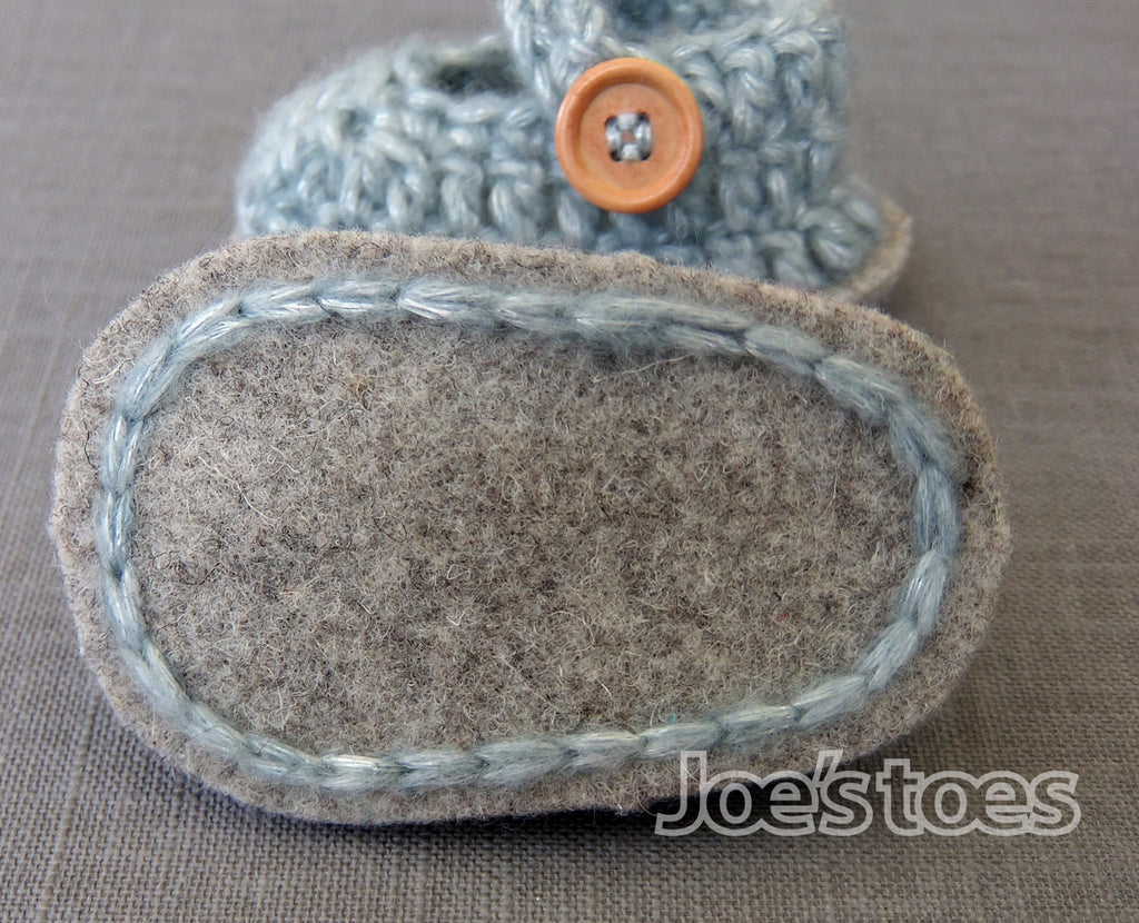 Mary-Jane Crochet Baby Shoe Kit - Joe's Toes  - 2