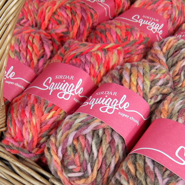 Squiggle Super Chunky Slipper Yarn - Joe's Toes  - 1