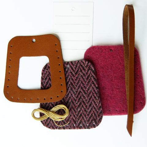 Luggage Tag Kit - available in seven colours