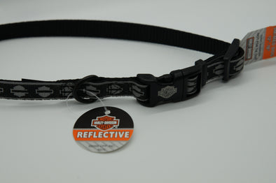 Reflective Harley-Davidson Dog Collar