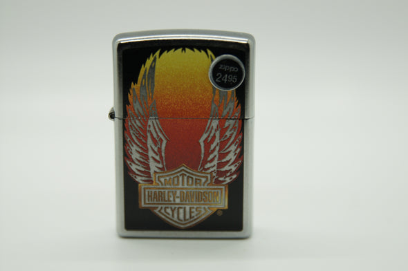 Harley-Davidson Retro Winged Zippo Lighter