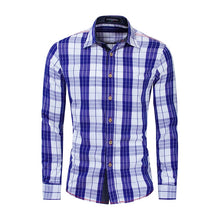 Load image into Gallery viewer, Men's Check Shirt Cotton