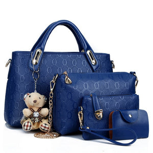 Different Size Bags Bear Shoulder Bag