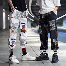 Load image into Gallery viewer, Hip Hop Homens Casual Harem Pants