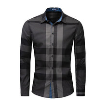 Load image into Gallery viewer, Men's Fashion New Plaid Shirt