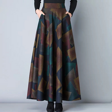 Load image into Gallery viewer, High Waist Woolen Skirts