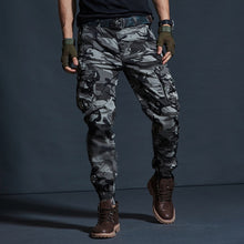 Load image into Gallery viewer, Casual Cotton Jogger Military Pants