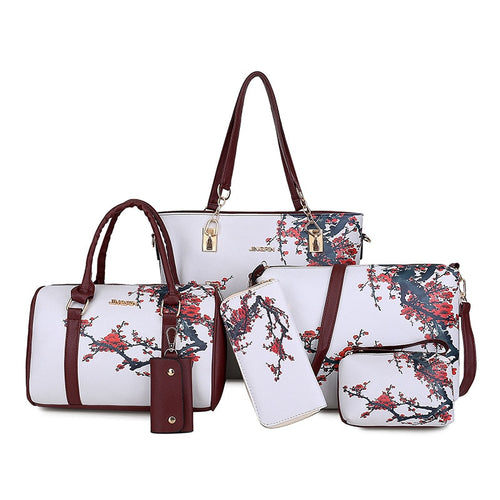 Women's Bag New Graffiti Six Pieces Set