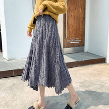 Load image into Gallery viewer, Women's Long Knit Skirt Korean