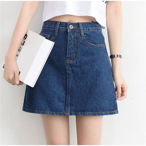 Women's Mini Skirt High Waist