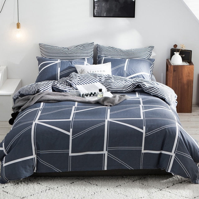 100% cotton comforter bedding set