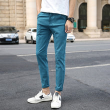Load image into Gallery viewer, Male Skinny Small Feet Trousers