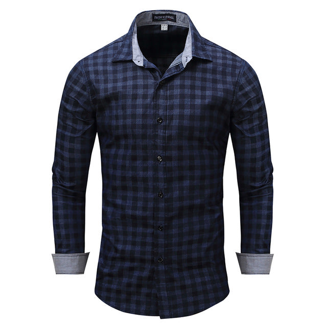 Business Casual Long Sleeve Shirt