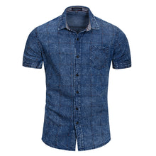 Load image into Gallery viewer, Work Denim Business Short Sleeve Shirt