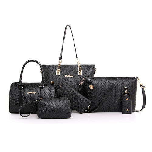 Six Pieces Set Different Size Bags