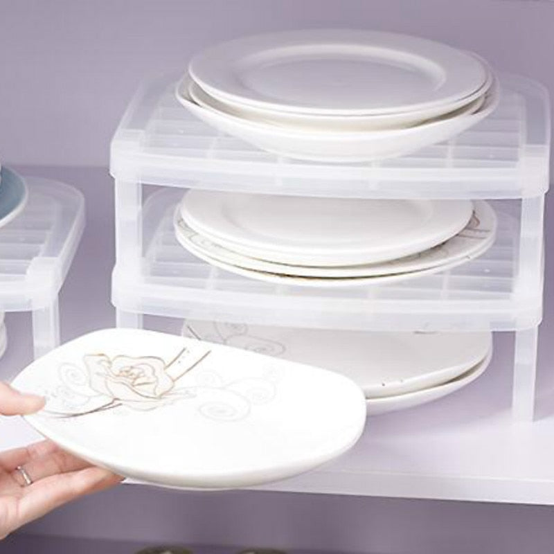 Kitchen supplies Dish Storage Organizer
