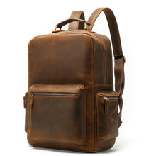 Load image into Gallery viewer, 100% Genuine Leather Business Backpack
