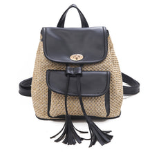 Load image into Gallery viewer, Women's Wild Solid Weaving Backpack