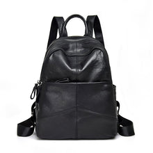 Load image into Gallery viewer, women's genuine leather backpack bag