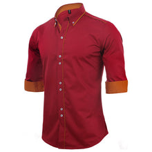 Load image into Gallery viewer, 100% Cotton Slim Business Shirts