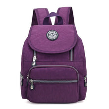 Load image into Gallery viewer, Small Nylon Women's Backpack