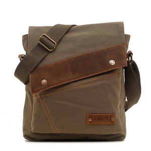 Men Canvas Shoulder Bag