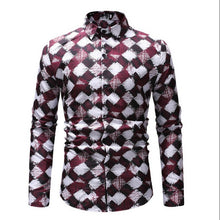 Load image into Gallery viewer, Men's Long Sleeve Casual Dress Shirts