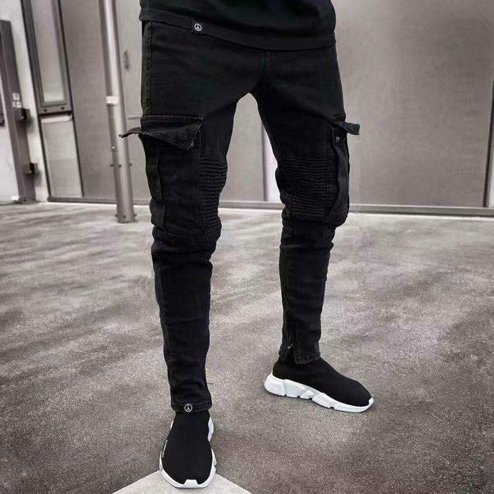 Fashion Men's Skinny Denim Pants