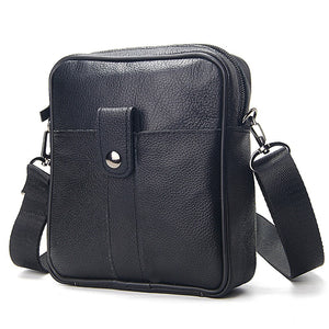 Fashion Cow Leather Black Messenger Bags