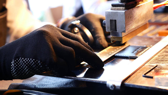 PERSONALISATION OF LEATHER PRODUCTS