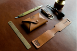 Leather Craft Workshop Cardholder Luggage Tag Key Chain