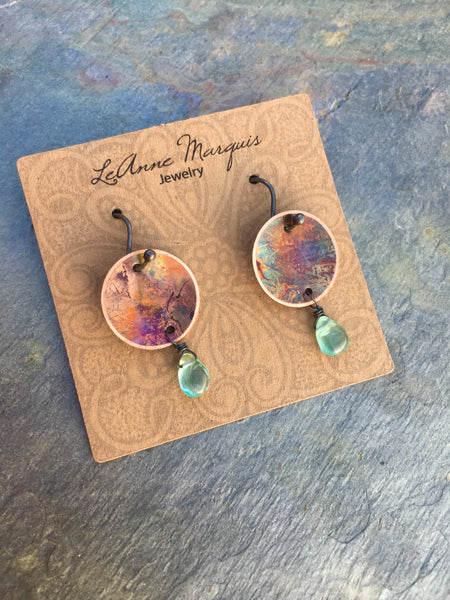 """Bitty"" Apatite Earrings"