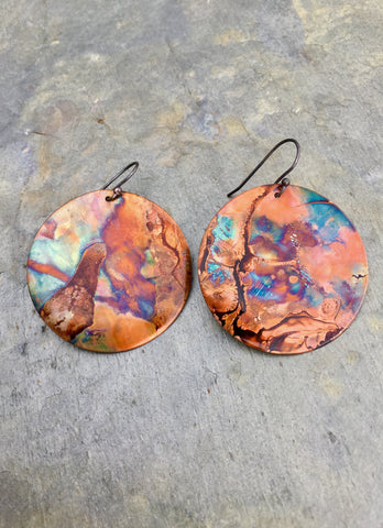 Hippy Circle Earrings