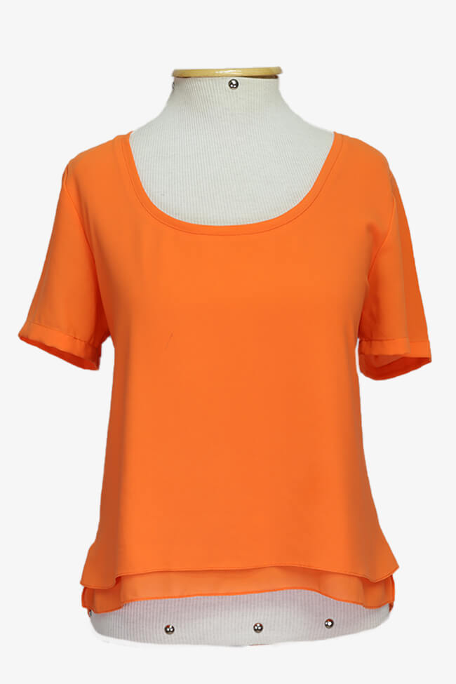 Blusa All Side Chiffon (P)