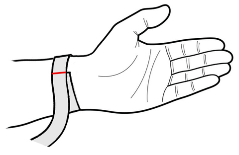 Find your wrist size - VIRAGE London