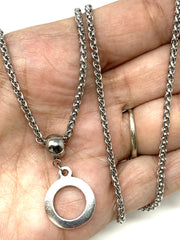 Stainless Steel Fine Wheat Chain #118C