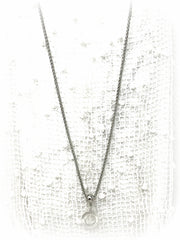 Stainless Steel Fine Wheat Chain #118C - Bead Dangle Design