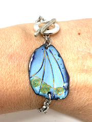 Hand Painted Enamel Interchangeable Dangle Bracelet Pendant #3064BC - Bead Dangle Design