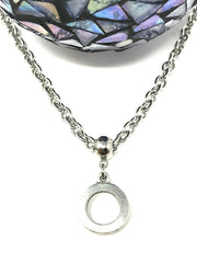 Stainless Steel Chain #102C - Bead Dangle Design